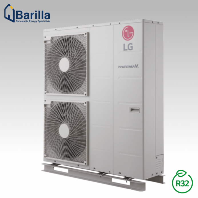 12kW Air to Water LG Therma V R32 Monobloc Heat Pump